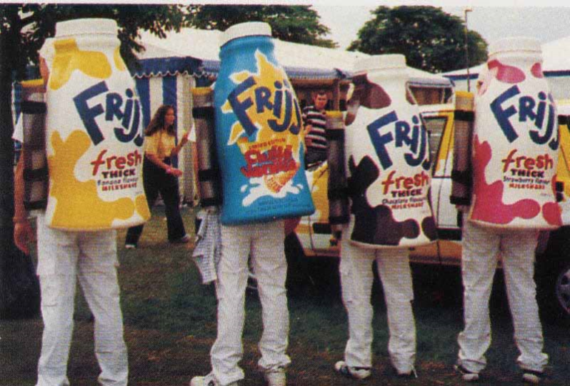 Frijj Hire Drinks Dispensers